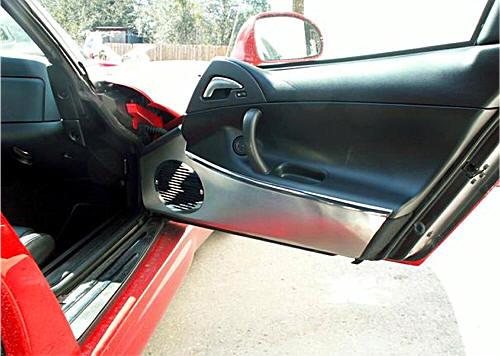 Dodge Viper Stainless Steel Door Panel