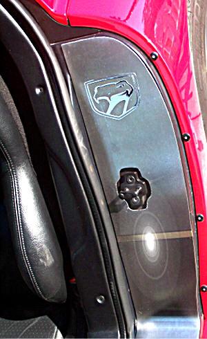 Dodge Viper 1992 2002 Door Sills Stainless Steel