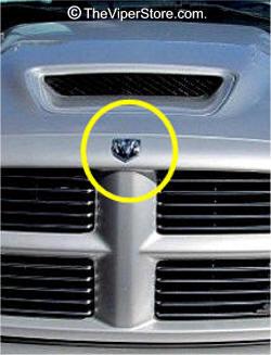 Dodge RAM SRT10 2004-2006 Emblems and Parts