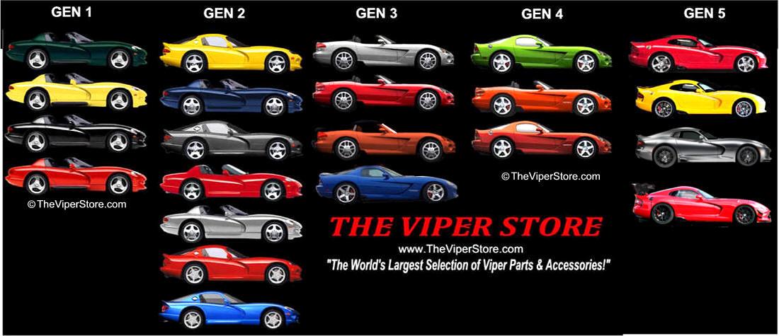 Dodge Viper 1992 2014 Information Amp Statisics