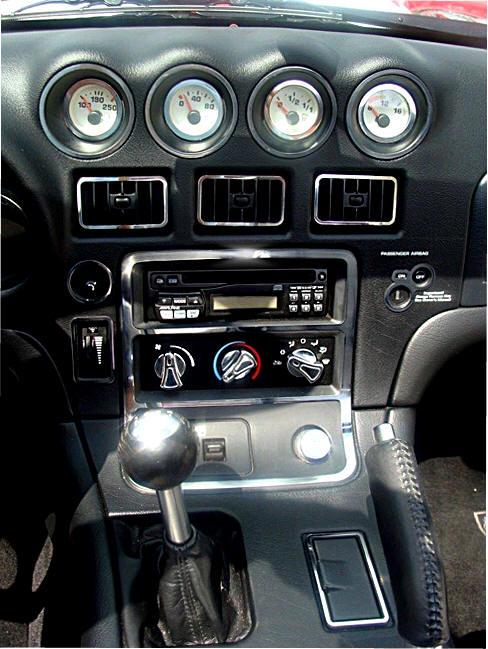 Dodge Viper 1996 2002 Stainless Interior Dash Trim A C Acc 961021