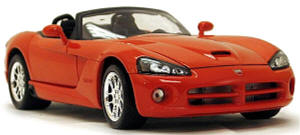 IXO ATLAS   1:43 Dodge Viper SRT-10    2003-2010  rot