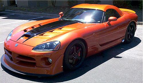 Viper Modified on Dodge Dakota Rt