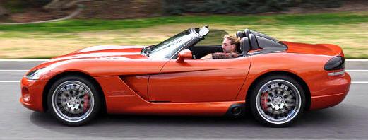 Viper Kingsrt on 2002 Dodge Dakota Ground Effects